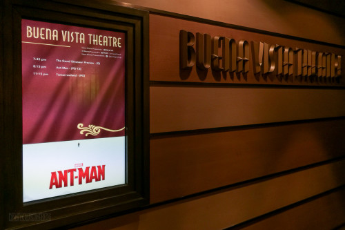Ant Man Buena Vista Theatre