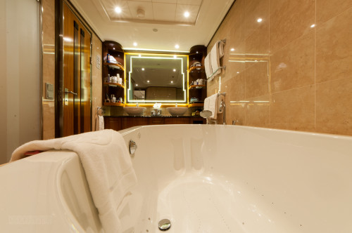 1 Bedroom Concierge Stateroom Bathroom