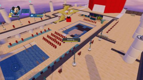 Disney Infinity DCL Castaway Cay Toy Box Disney Dream Ariel View Pool