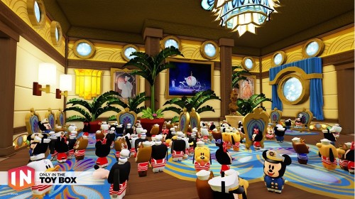 Disney Infinity DCL Castaway Cay Toy Box Disney Dream Atrium