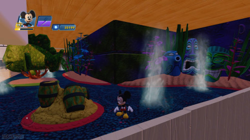 Disney Infinity DCL Castaway Cay Toy Box Disney Dream Splash Pool