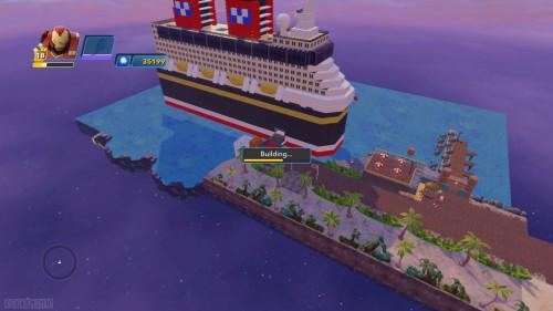 Disney Infinity DCL Castaway Cay Toy Box Docked Island