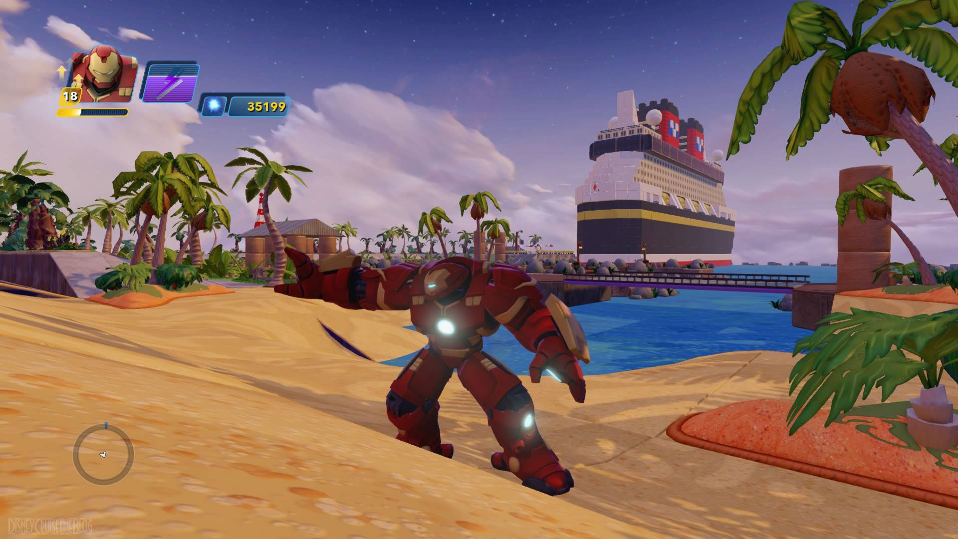 first look at the new disney dream: disney infinity play area in the