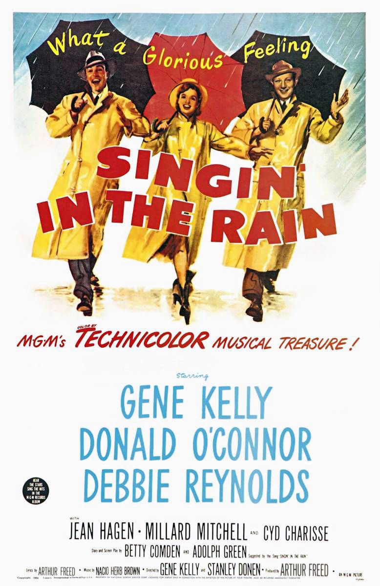 Singin; In The Rain Movie Poster