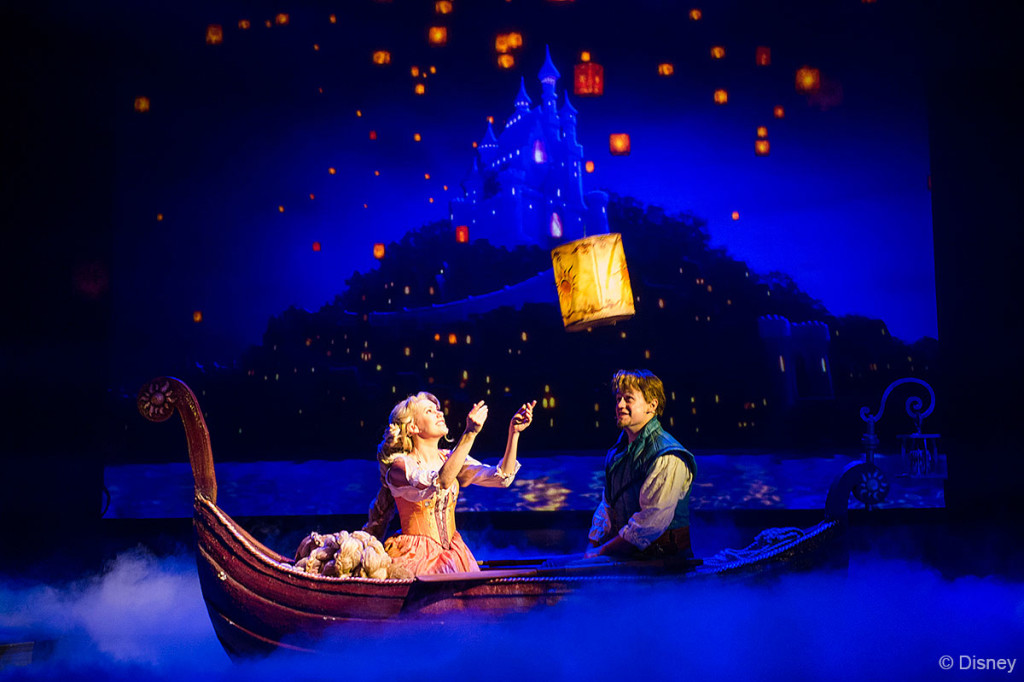 Tangled The Musical Floating Lantern Rapunzel Flynn