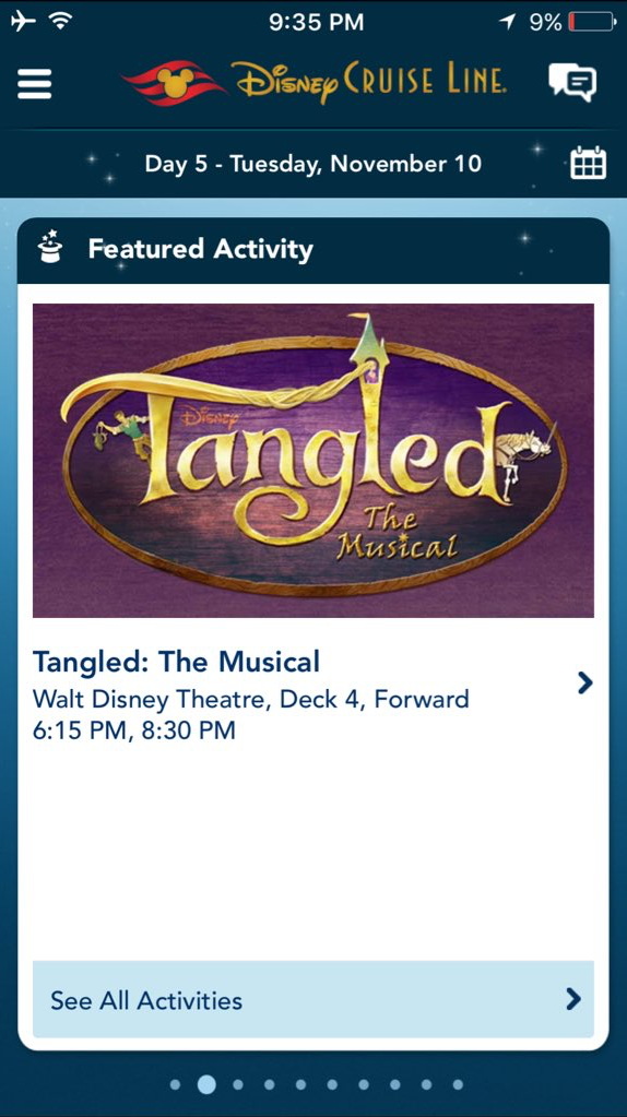 Tangled The Musical Debut November 10 2015 Disney Magic