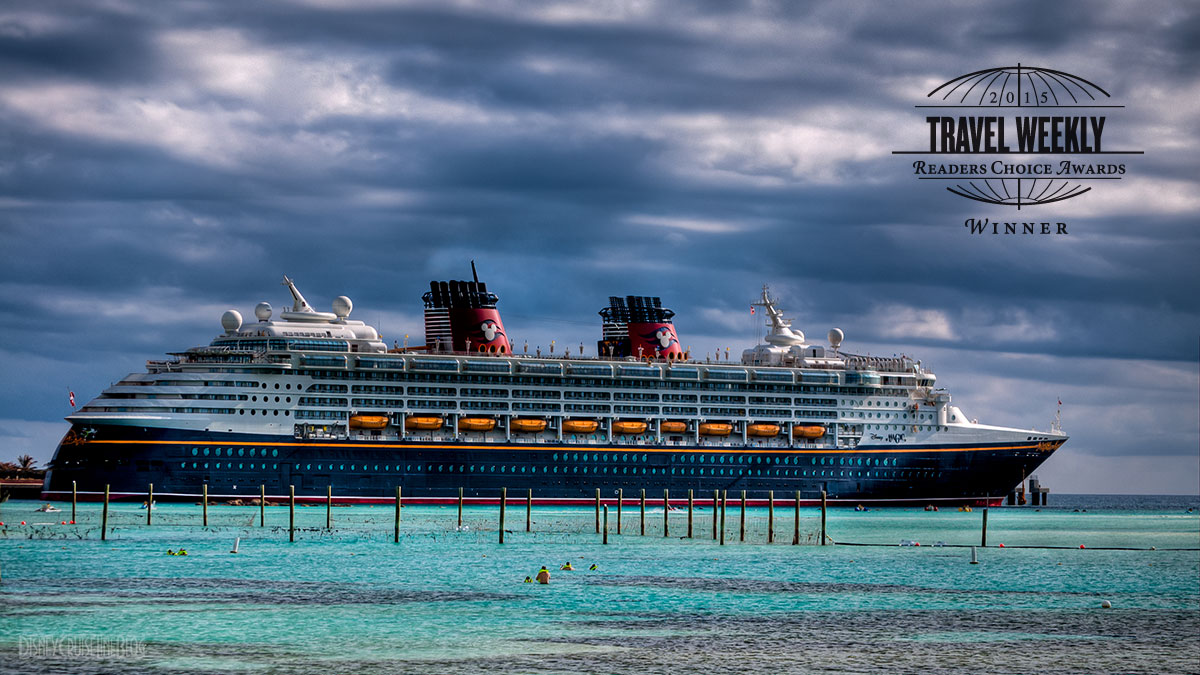Disney Magic Castaway Cay Travel Weekly Readers Choice Awards 2015