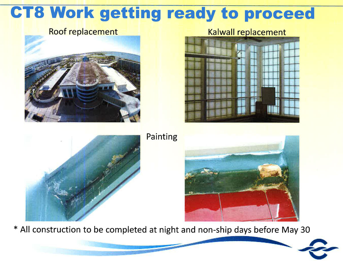 Port Canaveral CT8 Construction Update 20151216
