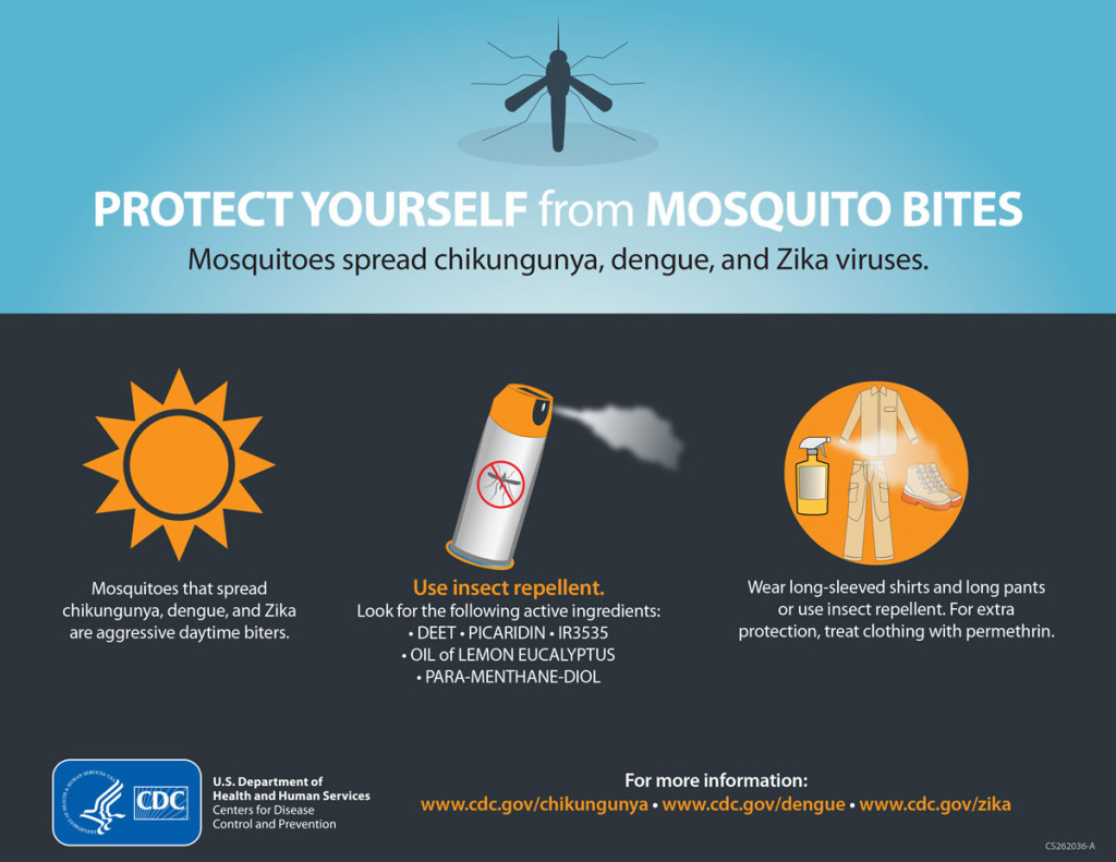 CDC Protect Yourself From Mosquito Bites