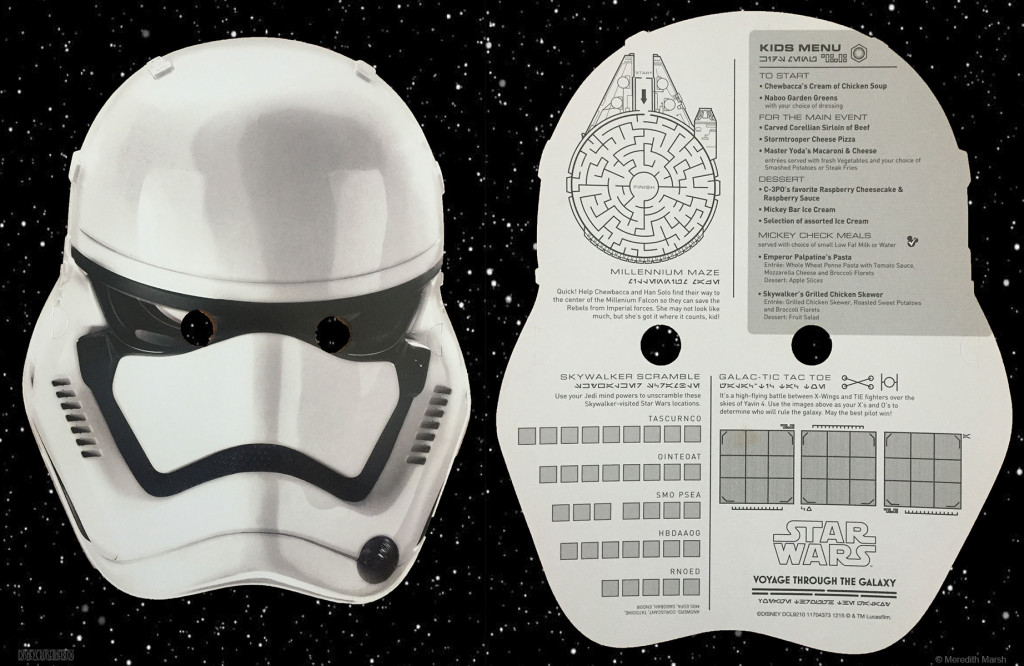 Star Wars Kids Menu Stormtrooper