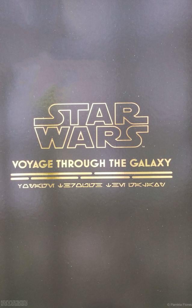 Star Wars Menu Cover