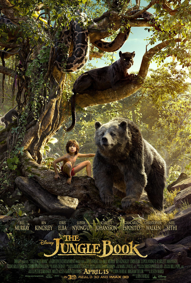 The Jungle Book Poster Final 2016