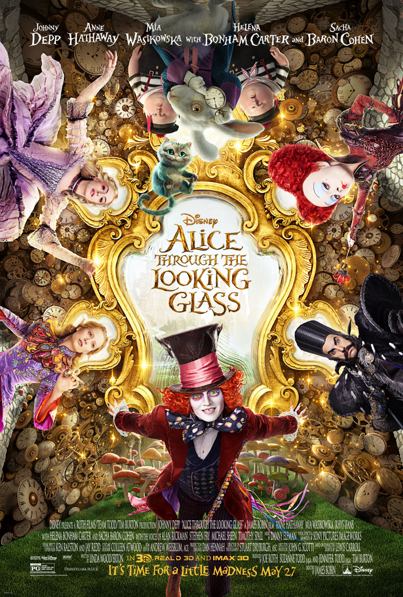 Alice In Wonderland Through The Looking Glass Movie Poster Final