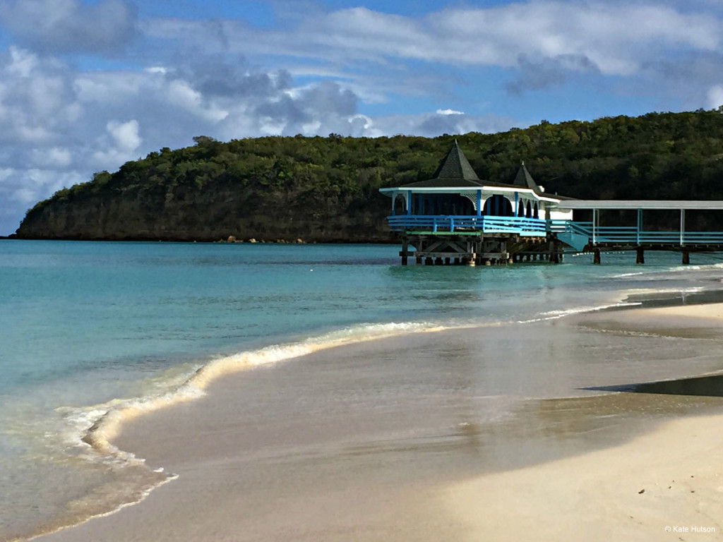 Antigua Deck On Beach