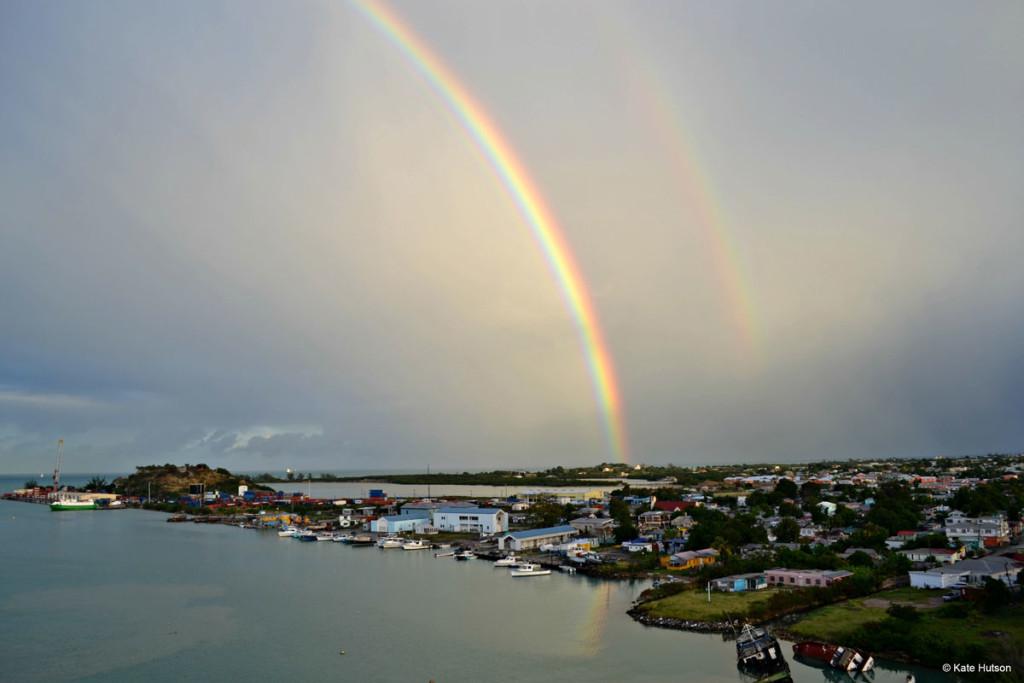 Antigua Double Rainbow