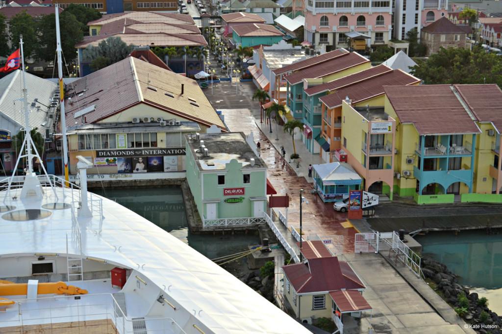Antigua Port Shopping Disney Wonder