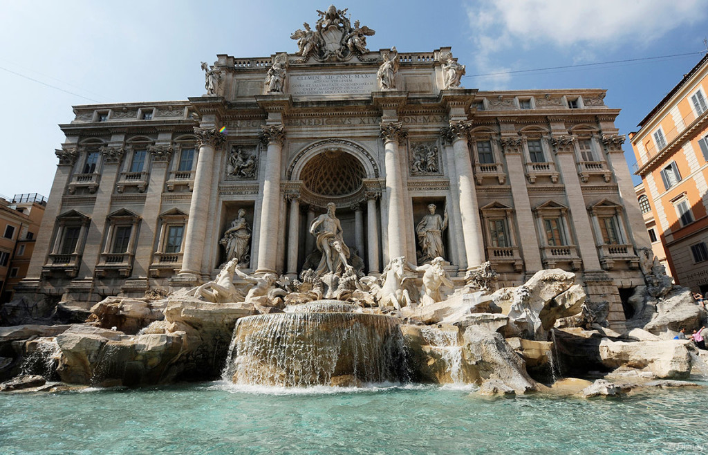 DCL Trevi Fountain In Rome Italy