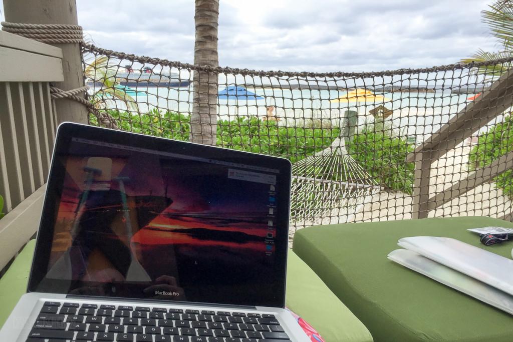 Castaway Cay Cabana Office