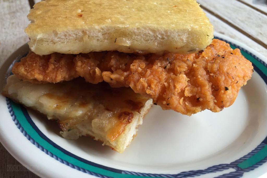 Cookies BBQ DIY Spicy Chicken Garlic Sandwich