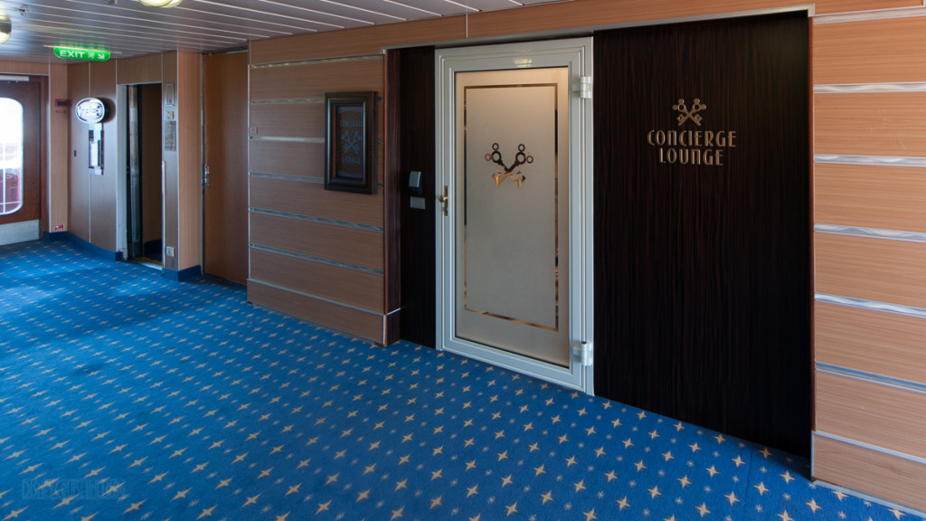 Disney Magic Concierge Lounge Entrance