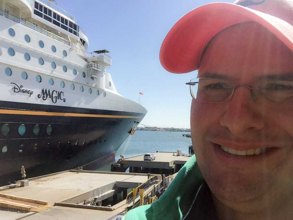 Disney Magic Selfie Port Canaveral