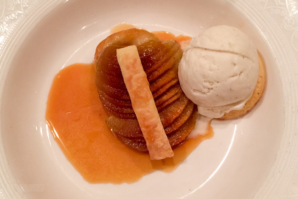 Lumiere's Apple Tart Tatin