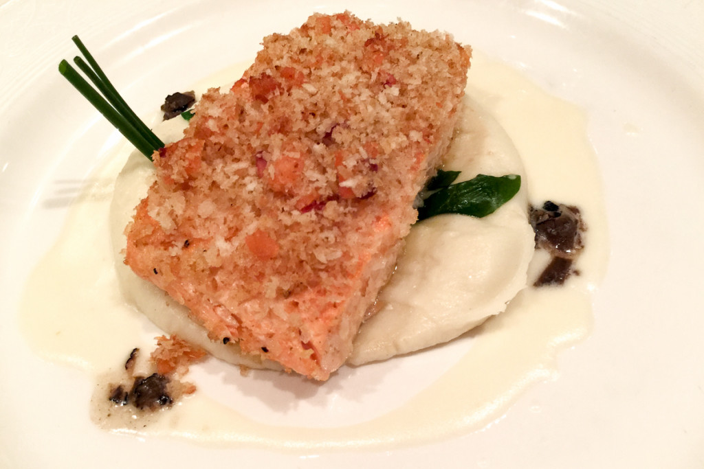 Lumiere's Oven Baked Salmon Royale