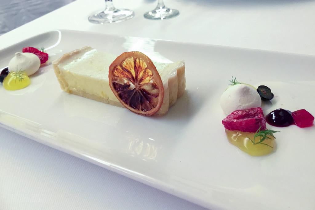 Palo Dinner Limoncello Tart