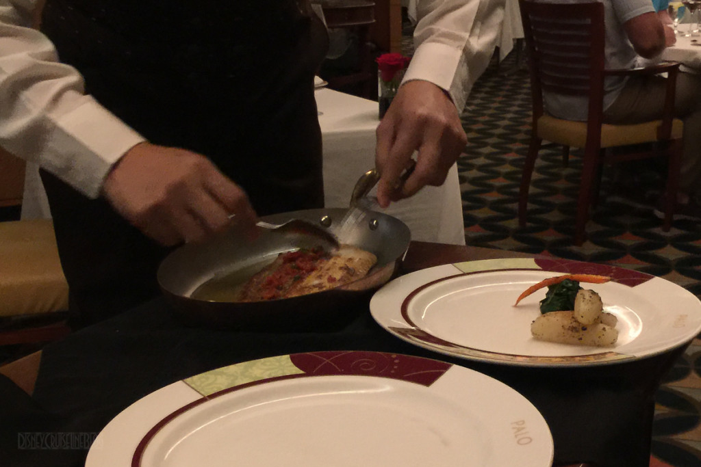 Palo Dinner Piquant Dover Sole – Filleted Table Side