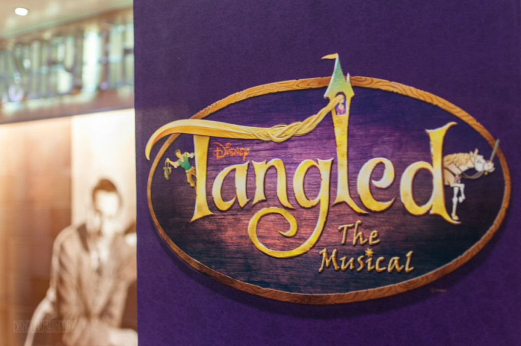 Tangled The Musical Banner Walt Disney Theatre