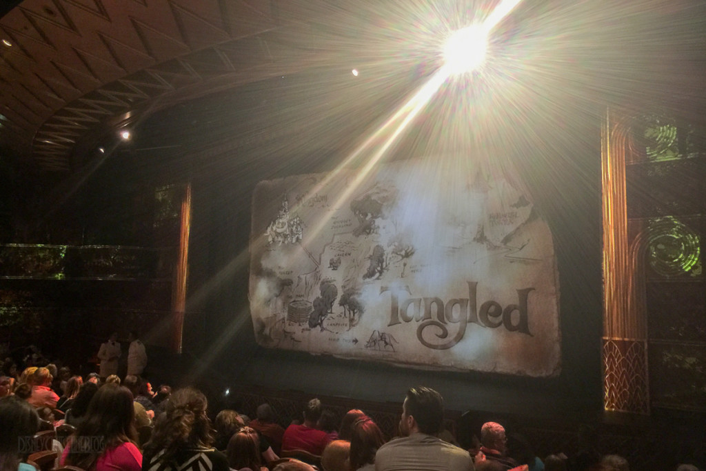 Tangled The Musical Title Screen