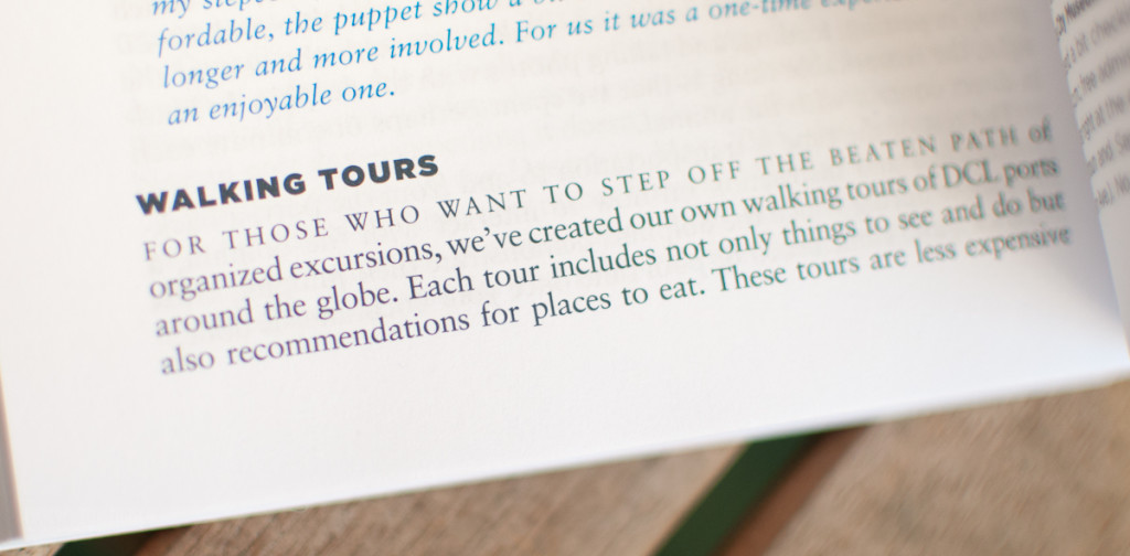 Unofficial Guide To Disney Crusie Line Walking Tours
