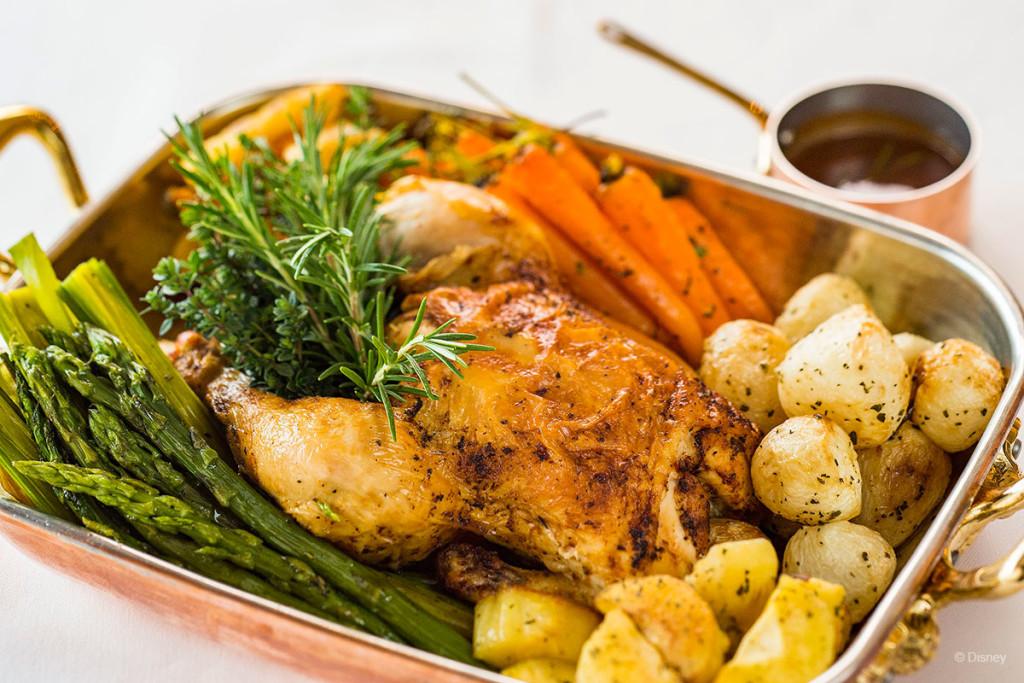 Palo Dinner Menu – Roasted Chicken
