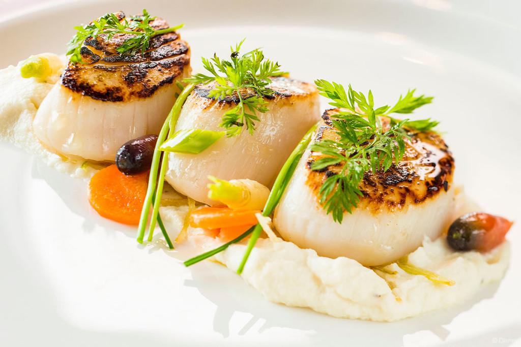 Palo Dinner Menu – Sea Scallops