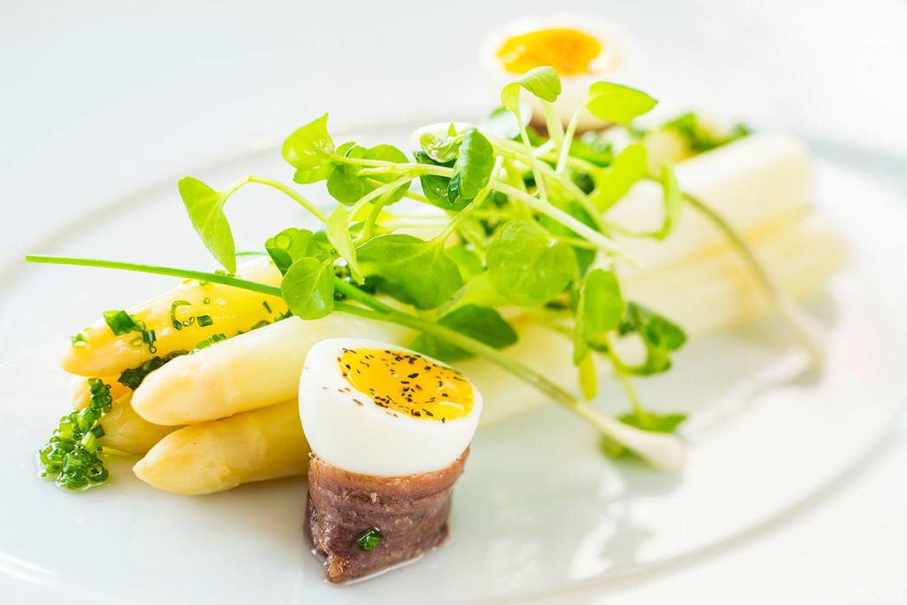 Palo Wine Pairing Menu – White Asparagus