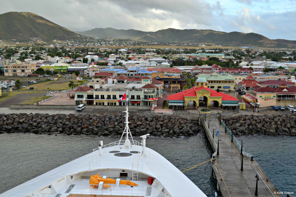 St Kitts Port Disney Wonder