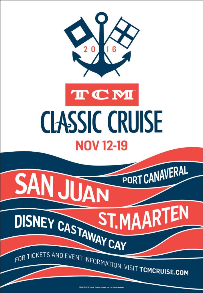 TCM Classic Cruise Poster Fantasy 2016