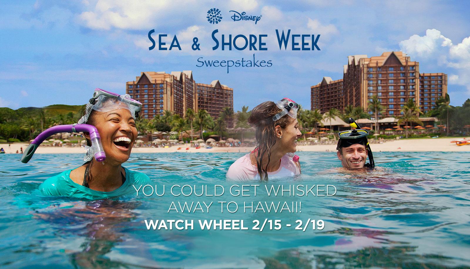Wheel Of Fortune Disney Sea Shore Week 2016