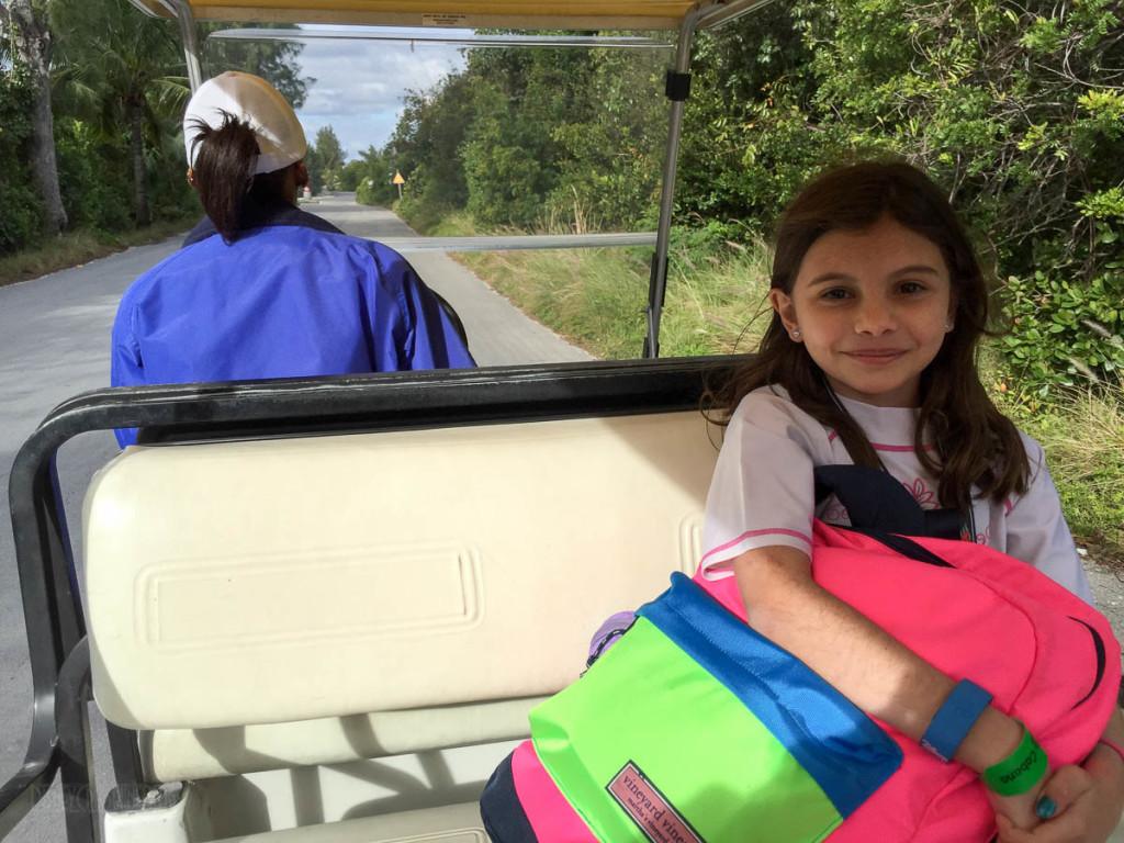 Cabana Golf Card Ride