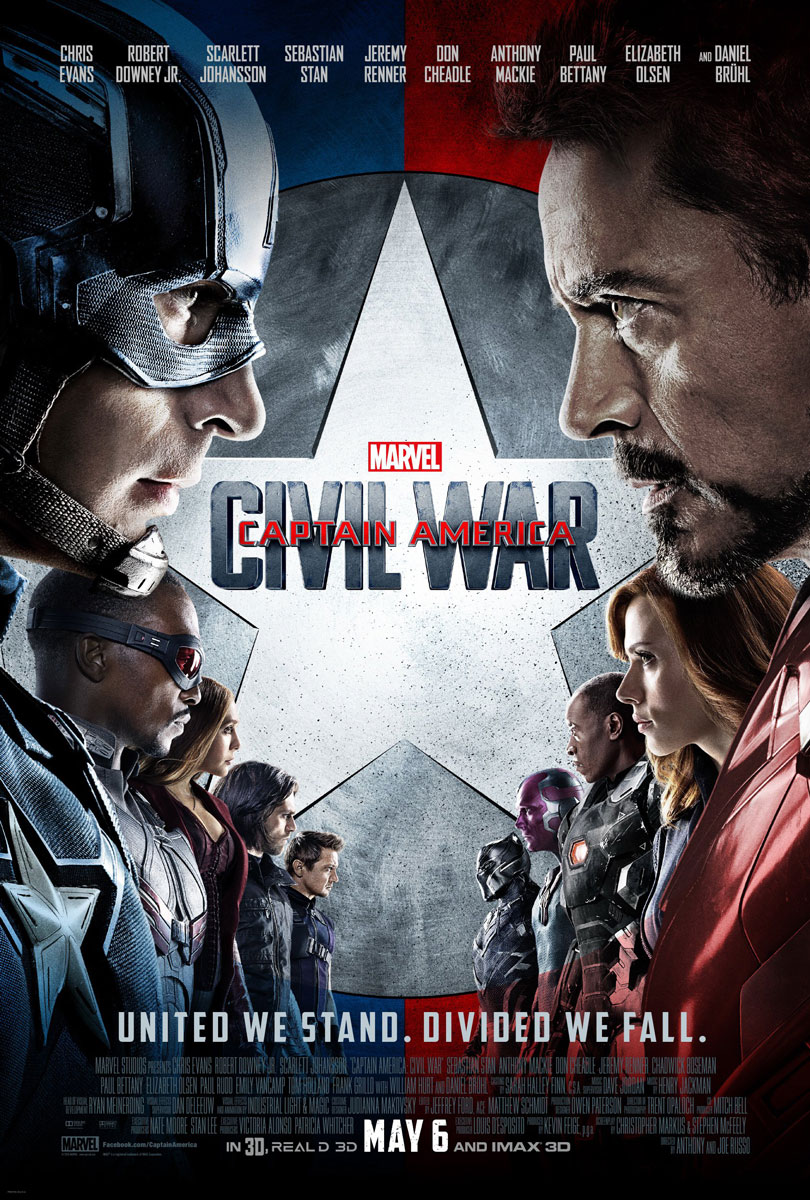 Captain America Civil War Movie Poster Final