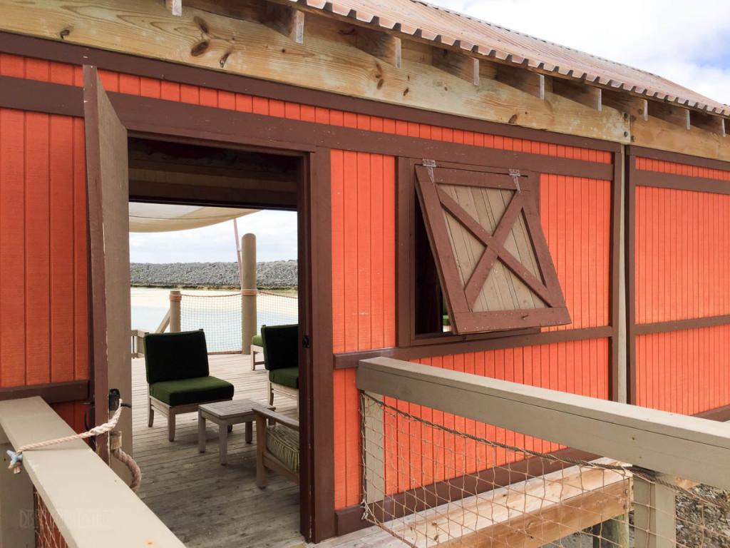 Castaway Cay Cabana 21 Entrance