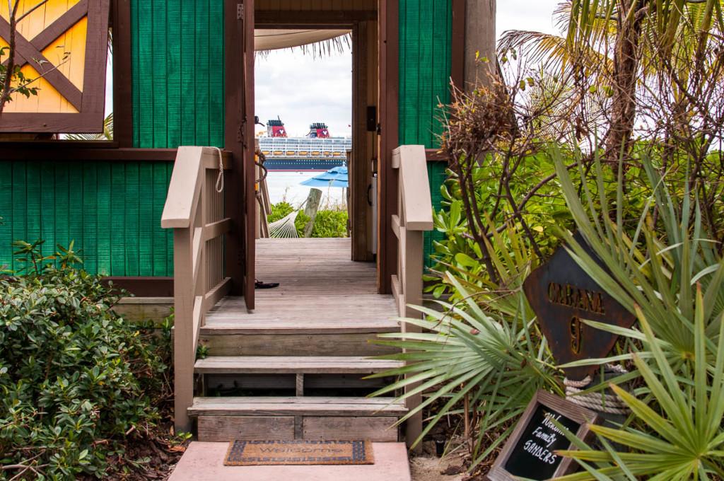 Castaway Cay Cabana 9 A Magical Entrance