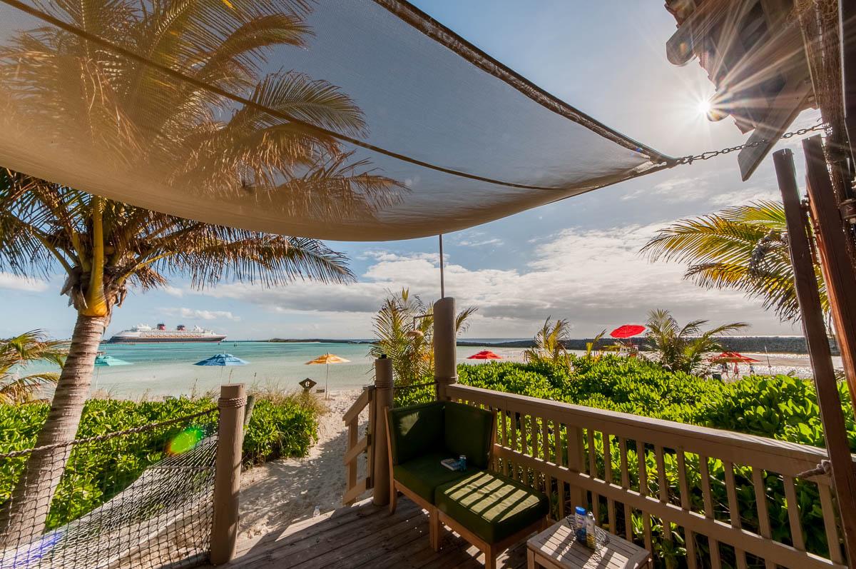 Castaway Cay Cabana 9 A Magical View