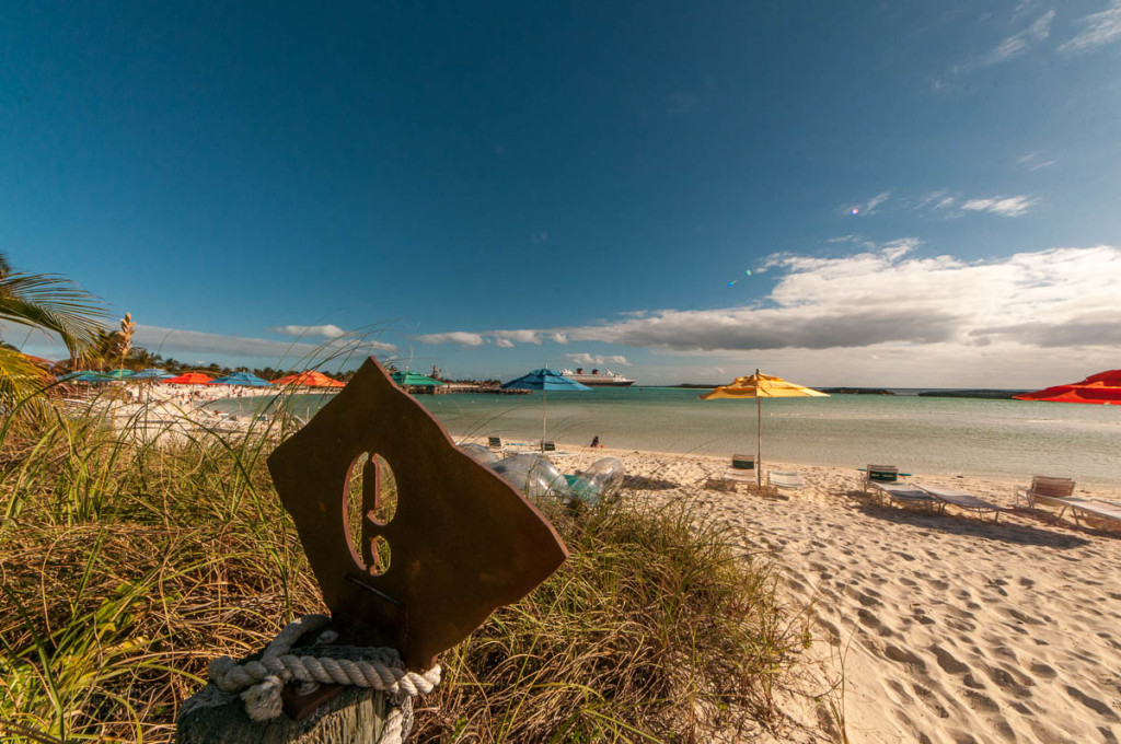 Castaway Cay Cabana 9 Beach View