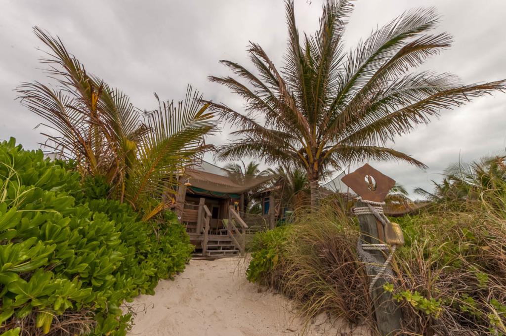 Castaway Cay Cabana 9 Beach Walkway