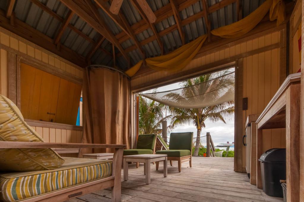 Castaway Cay Cabana 9 Entrance View
