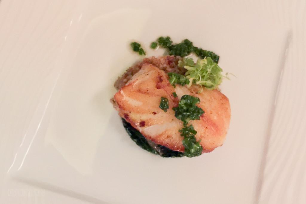 Palo Wine Pairing 2016 Chilean Sea Bass, Spinach, Buckwheat, L
