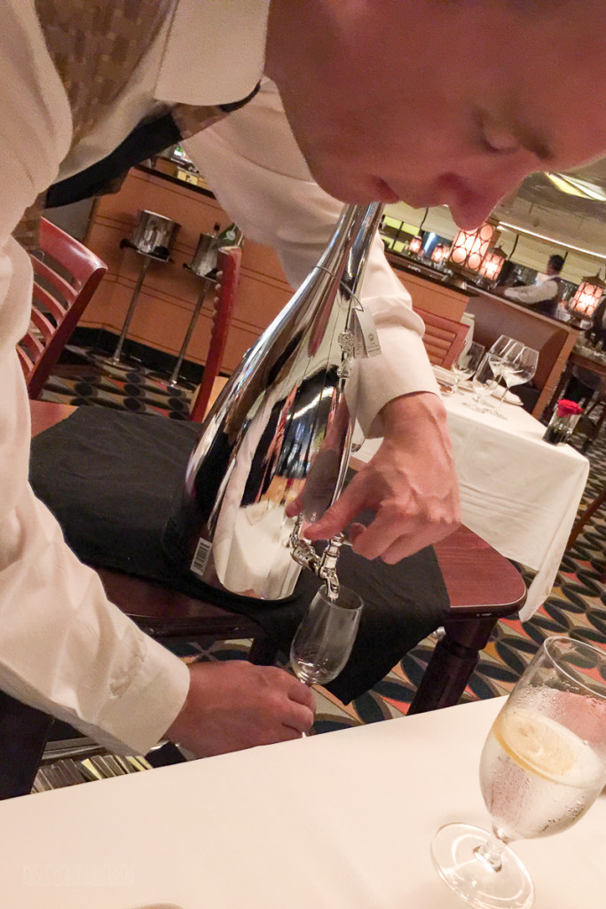 Palo Wine Pairing 2016 Duncan Pouring The Grappa