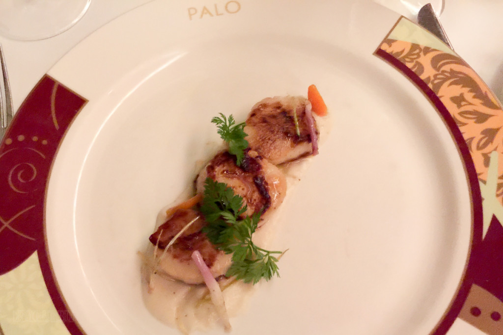 Palo Wine Pairing 2016 Sea Scallops (Alternate)