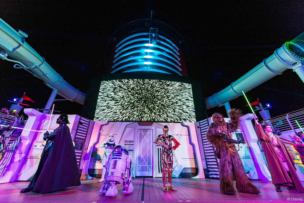 Star Wars Day At Sea Summon The Force Peck Party